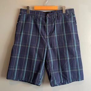 HURLEY BLUE STRIPED SHORTS